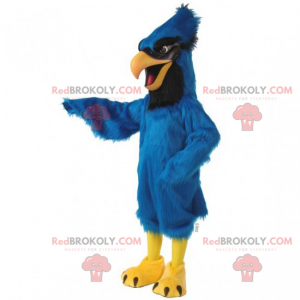 Großes blaues Kardinalmaskottchen - Redbrokoly.com