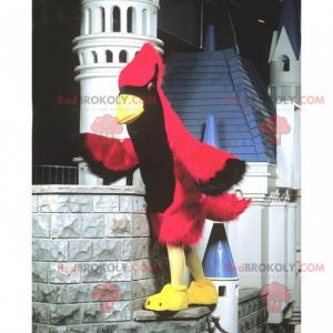 Great red cardinal mascot - Redbrokoly.com