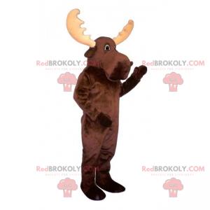 Stor caribou maskot - Redbrokoly.com