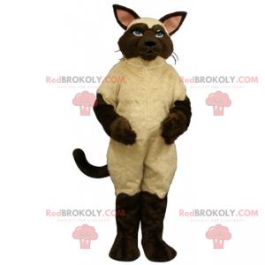 Big Siamese cat mascot - Redbrokoly.com