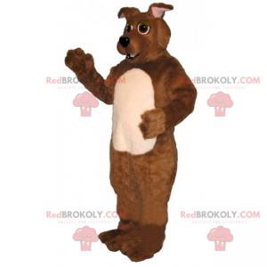 Großes Hundemaskottchen - Redbrokoly.com