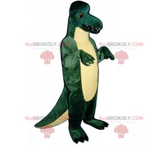 Duża maskotka dino z ostrymi zębami - Redbrokoly.com