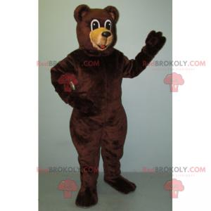 Großes Braunbärenmaskottchen - Redbrokoly.com