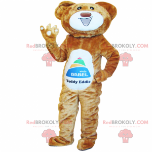 Big smiling bear mascot - Redbrokoly.com