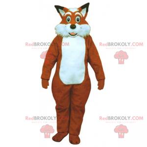 Mascote raposa grande - Redbrokoly.com