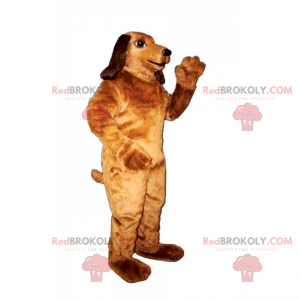Great dachshund mascot - Redbrokoly.com