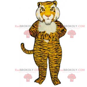 Big tiger mascot - Redbrokoly.com