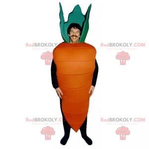 Large carrot mascot - Redbrokoly.com