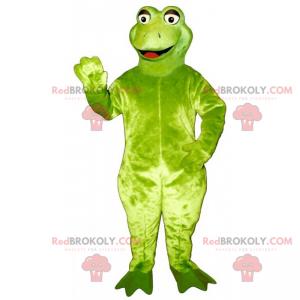 Großes lächelndes Froschmaskottchen - Redbrokoly.com