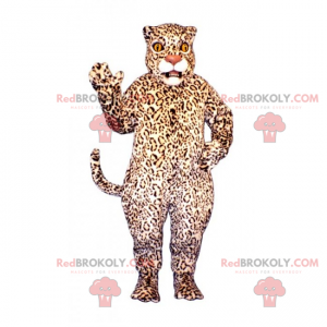 Stor panter maskot - Redbrokoly.com