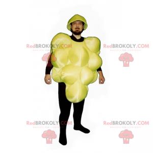 Maskottchen der gelben Weintraube - Redbrokoly.com