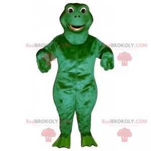 Maskotka z okrągłą głową żaby - Redbrokoly.com