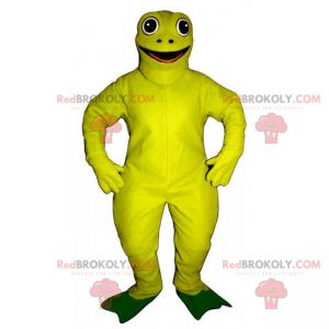 Gelbes Frosch Maskottchen - Redbrokoly.com