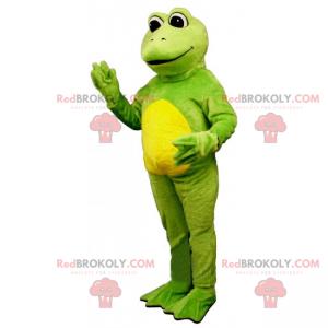 Smiling frog mascot - Redbrokoly.com