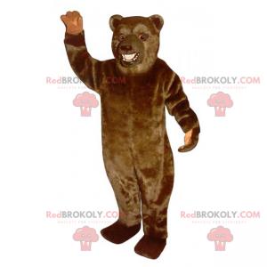Hnědý grizzly maskot - Redbrokoly.com