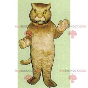 Velká kočka maskot - Redbrokoly.com