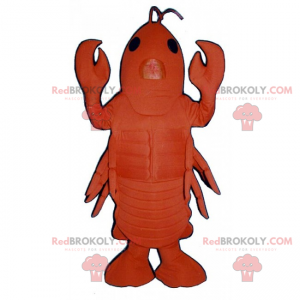 Grote kreeft mascotte - Redbrokoly.com