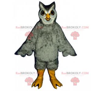 Maskot sova s měkkým peřím - Redbrokoly.com