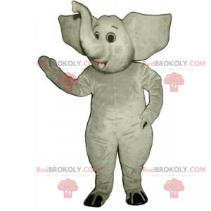 Junges Elefantenmaskottchen - Redbrokoly.com