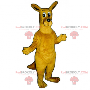 Storøjet kænguru-maskot - Redbrokoly.com
