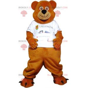 Mascote canguru jogador de tênis - Redbrokoly.com