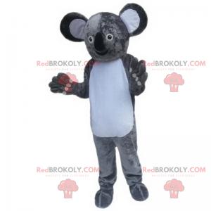 Mascote coala com orelhas grandes - Redbrokoly.com