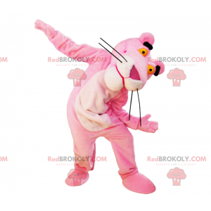 Mascot of the Pink Panther - Redbrokoly.com