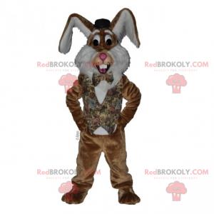 Maskot králíka s velkýma ušima - Redbrokoly.com