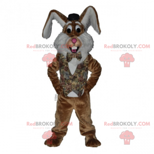 Rabbit mascot with big ears - Redbrokoly.com