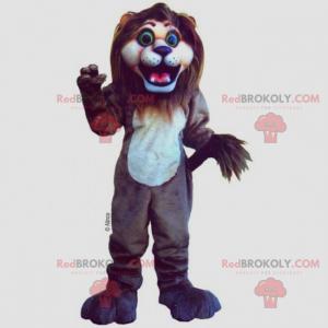 Maskot Lion s velkými tlapkami - Redbrokoly.com
