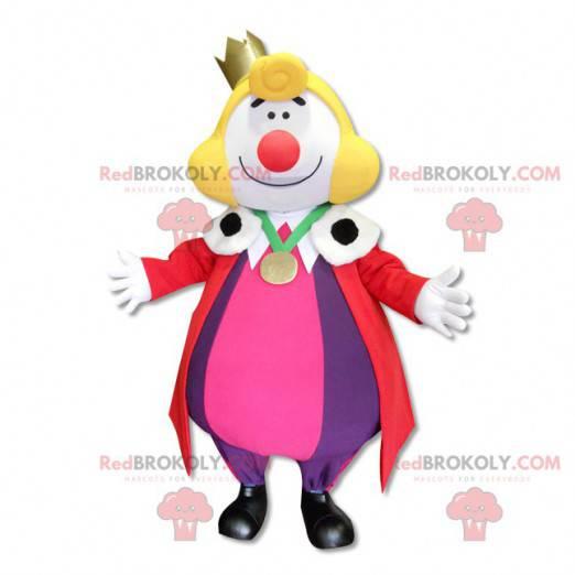 Mascot of King Leon of the Bayonne festivals - Redbrokoly.com