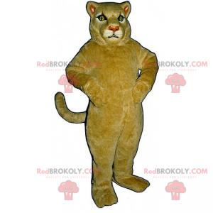 Béžový maskot lvice - Redbrokoly.com