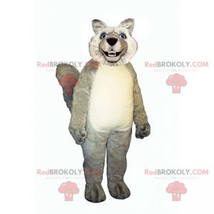 Maskot divokého vlka - Redbrokoly.com