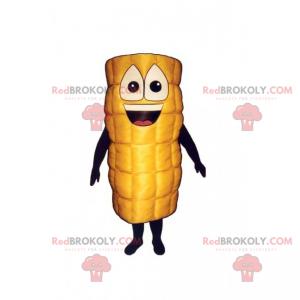 Smiling corn mascot - Redbrokoly.com