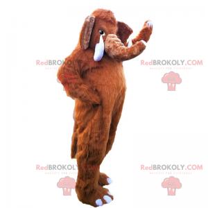 Mamutí maskot - Redbrokoly.com
