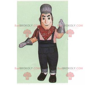 Mechanic mascot - Redbrokoly.com