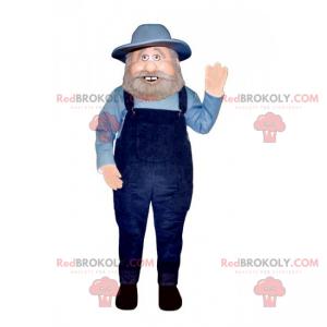 Profese maskot - zemědělec - Redbrokoly.com