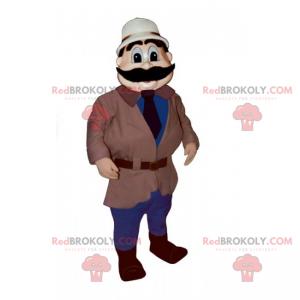 Profesionální maskot - dobrodruh - Redbrokoly.com