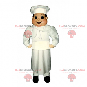 Professional mascot - Chef - Redbrokoly.com