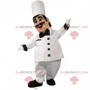 Professional mascot - Chef with mustache - Redbrokoly.com