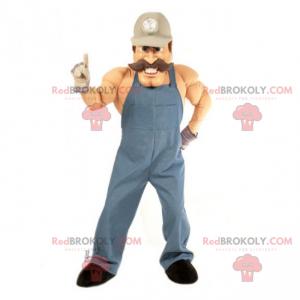 Profese maskot - mechanik - Redbrokoly.com