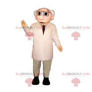 Profesionální maskot - vědec - Redbrokoly.com