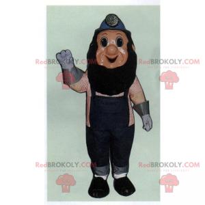 Miner mascot in work clothes - Redbrokoly.com