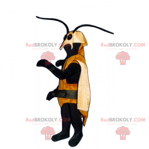 Myggmaskot med lange antenner - Redbrokoly.com