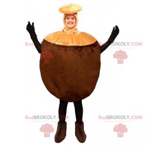 Hazelnut mascot - Redbrokoly.com