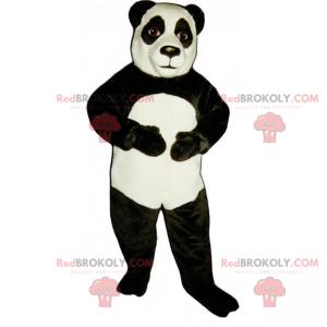 Klasický panda maskot - Redbrokoly.com