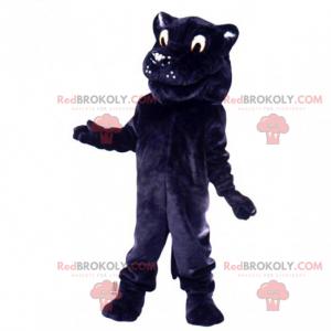 Panther maskot s měkkou srstí - Redbrokoly.com