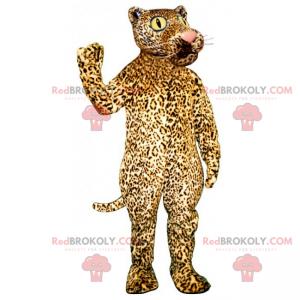 Panther maskot s velkýma očima - Redbrokoly.com