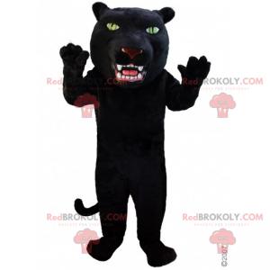 Panther mascot with big head - Redbrokoly.com
