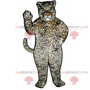 Panther maskot s velkými skvrnami - Redbrokoly.com